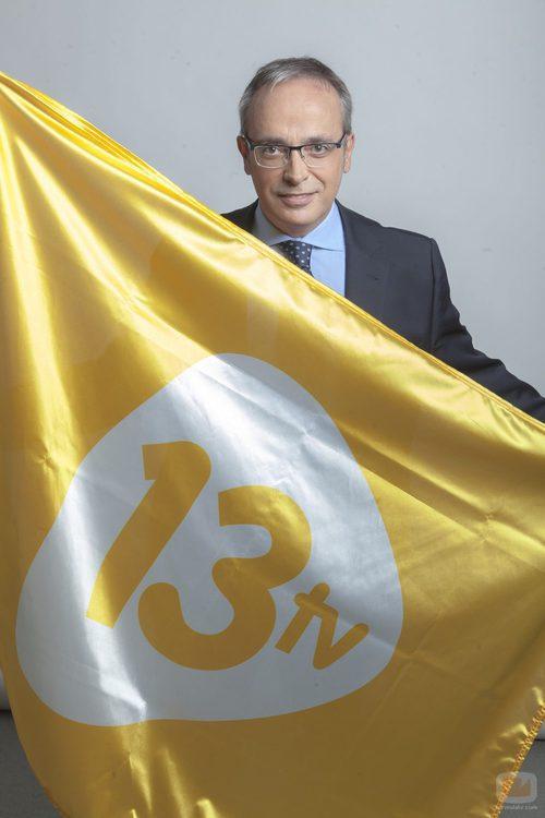 Alfredo Urdaci, nuevo director de informativos de 13TV