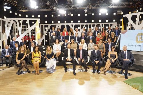 El equipo al completo de la nueva temporada de 13TV