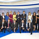 Equipo de Informativos en TVE para la temporada 2014/2015
