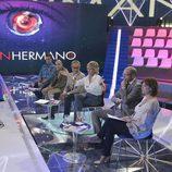 Mercedes Milá toma la palabra durante la rueda de prensa de 'Gran hermano 15'