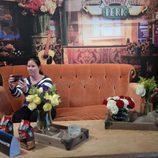 Un selfie en el sofá de Central Perk de 'Friends'