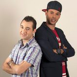 Vitín y Omar, concursantes de 'Gran Hermano 15'