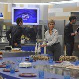 Mercedes Milá en la cocina de 'Gran Hermano 15'