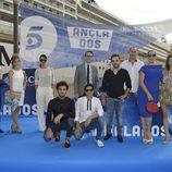 Los actores de 'Anclados' en Valencia