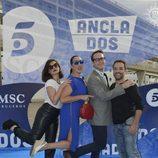 Miren Ibarguren, Rossy de Palma, Joaquín Reyes y Daniel Guzmán en 'Anclados'
