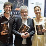 Rodolfo Sancho y Michelle Jenner en la presentación de