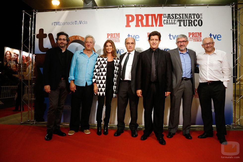 Nacho Faerna, Miguel Bardem, Macarena Rey, Francesc Orella, Pedro Casablanc, Fernando López Puig y José Luis Rebordinos