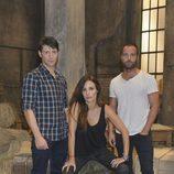 Fran Nortes, Patricia Vico y Carles Francino en 'Rabia'
