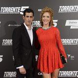 Víctor Janeiro y Beatriz Trapote en el estreno de
