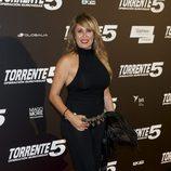 Miriam Díaz Aroca en el estreno de