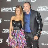 """Oriana y Rafa Mora en el estreno de """"Torrente 5: Operación Eurovega"""""""