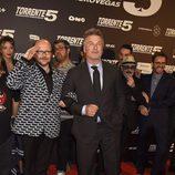 """Santiago Segura y Alec Baldwin en el estreno de """"Torrente 5"""""""