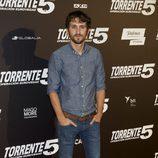 """Raúl Arévalo en la première de """"Torrente 5: Operación Eurovegas"""""""