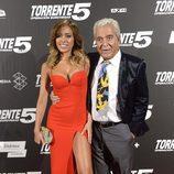 """Grecia Castta y Andres Pajares en la première de """"Torrente 5"""""""