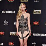 Emily Kinney en el estreno de la nueva temporada de 'The Walking Dead'