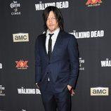 Norman Reedus en el estreno de la 5º temporada de 'The Walking Dead'