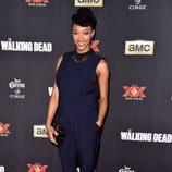 Sonequa Martin-Green en el estreno de la nueva temporada de 'The Walking Dead'