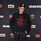 John Murdy en el estreno de la 5º temporada de 'The Walking Dead'