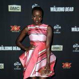 Danai Gurira en la presentación de la nueva temporada de 'The Walking Dead'