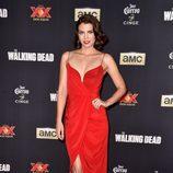 Lauren Cohan en la première de la 5º temporada de 'The Walking Dead'