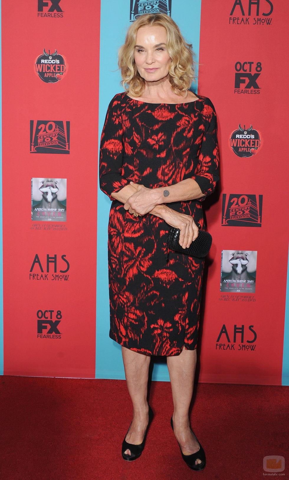 Jessica Lange en la première de la temporada 4 de 'American Horror Story'