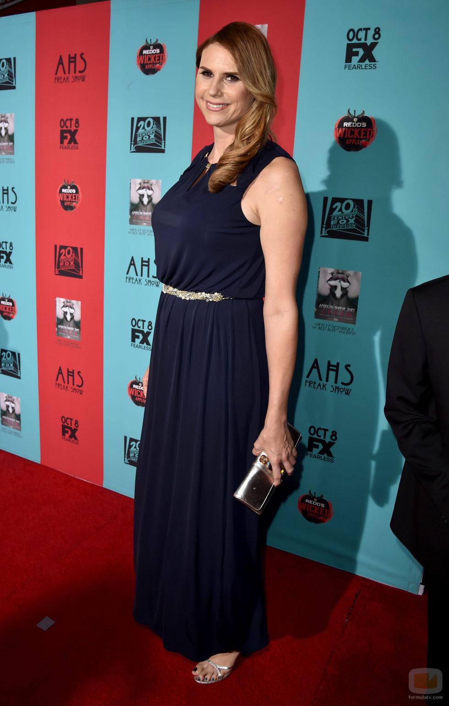Erika Ervin en la première de 'American Horror Story: Freak Show'