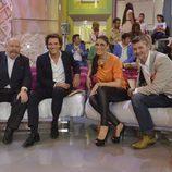 José María Iñigo, Antonio Rossi, Isabel Rábago y Fernandisco en '¡Qué tiempo tan feliz!'