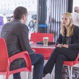 Rupert Friend y Claire Danes en la temporada 4 de 'Homeland'