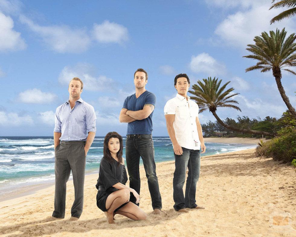 Imagen promocional de la cuarta temporada de 'Hawaii 5.0'