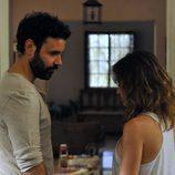 Miquel Fernández es Pablo y Marta Etura es Tania en 'El incidente'