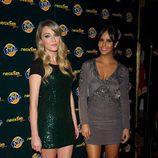 Cristina Pedroche y Anna Simon en los Neox Fan Awards 2014