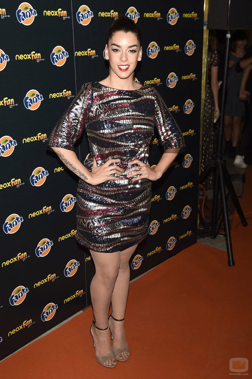 Ruth Lorenzo en los Neox Fan Awards 2014