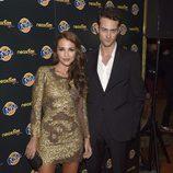 Paula Echevarría y Peter Vives en los Neox Fan Awards 2014