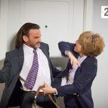 Anabel Alonso y Fernando Tejero en la octava temporada de 'La que se avecina'