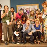 Los protagonistas de 'La que se avecina' en una escena de la octava temporada