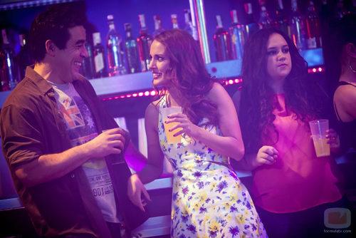 Silvia Alonso y Pablo Chiapella en una escena de la octava temporada de 'La que se avecina'