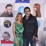Pablo Chiapella y Eva Isanta en el estreno de la octava temporada de 'La que se avecina'