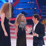 Anna Simon y Nayra en la gala 2 de 'Tu cara me suena mini'