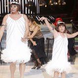 Miki Nadal y Carla en la gala 5 de 'Tu cara me suena mini'