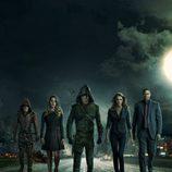 Foto grupal de la tercera temporada de 'Arrow'
