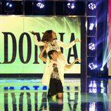 Los concursantes Felipe y Alba en 'Pequeños gigantes'