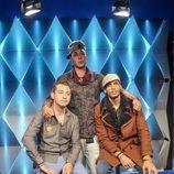 Omar, Vitín y Alfredo en 'Gran Hermano 15'