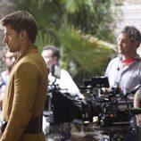 Nikolaj Coster-Waldau (Jaime Lannister) en el rodaje de 'Juego de tronos'