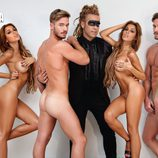 Tony Spina y Oriana Marzoli, desnudos en Primera Línea