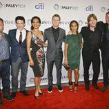 Los actores y el productor ejecutivo de la serie en el Gotham PaleyFest NY