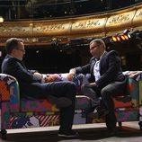 Jorge Javier Vázquez y Risto Mejide en 'Viajando con chester'