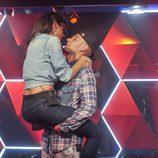Lucía se despide de Omar de manera apasionada en 'GH 15'