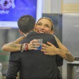 Luis felicita a Paula por su inmunidad en 'GH 15'