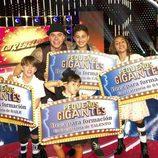 Los ganadores de 'Pequeños Gigantes'