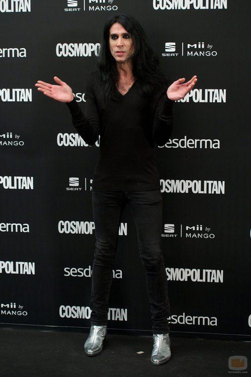 Mario Vaquerizo en los Premios Cosmopolitan 2014